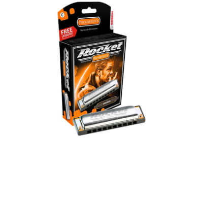 Hohner M2013BX-G Progressive Series Rocket Harmonica - Key of G