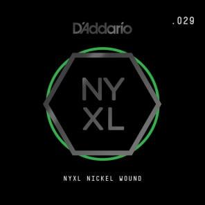 D'Addario NYXL Nickel Wound Electric Guitar Single String .029