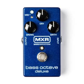 MXR Bass Octave Deluxe Guitar Effect Pedal for sale