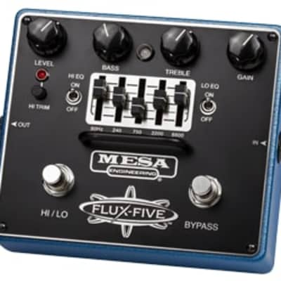 Mesa-Boogie Flux-Five Overdrive Guitar Effects Pedal for sale