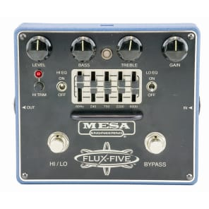 Mesa Boogie Flux-Five Dual-Mode Overdrive+ With Assignable 5-Band EQ for sale