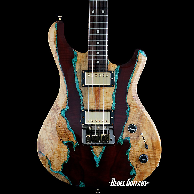 knaggs guitars tier 3 severn trembuck spalted maple with reverb. Black Bedroom Furniture Sets. Home Design Ideas