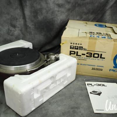Pioneer PL-30L Direct Drive Turntable w/ Original Box [Excellent]