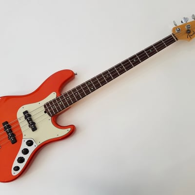Fender American Deluxe Jazz Bass 2002 Candy Tangerine for sale