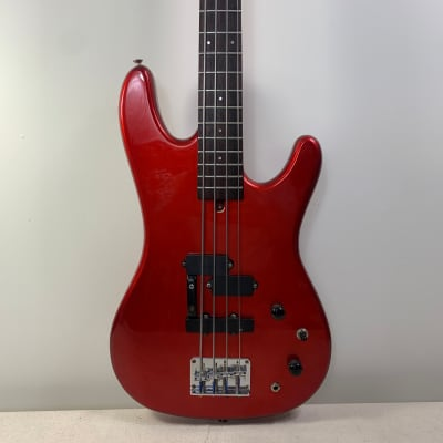 Aria Pro II XRB-2 1988 Candy Red PJ Bass for sale