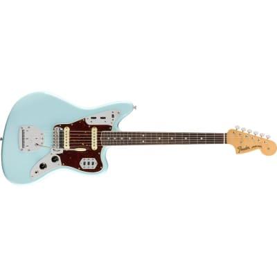 Fender American Original '60s Jaguar Rosewood Fingerboard, Daphne Blue for sale