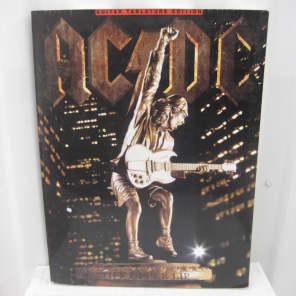 80167149df755 AC DC Stiff Upper Lip Sheet Music Song Book Songbook Guitar Tab Tablature