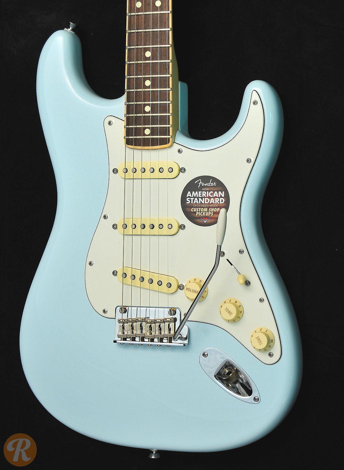 Fender American Standard Stratocaster Channel Bound Sonic | Reverb
