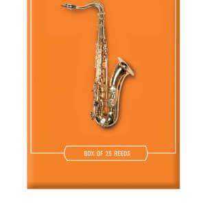 Rico RKA2515 Tenor Saxophone Reeds - Strength 1.5 (25-Pack)