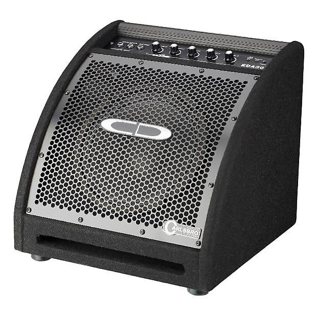 carlsboro eda50 electronic drum amplifier reverb. Black Bedroom Furniture Sets. Home Design Ideas