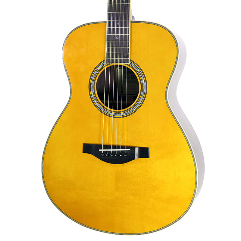 Brand new yamaha ls ta vintage tint acoustic electric for Yamaha guitar brands