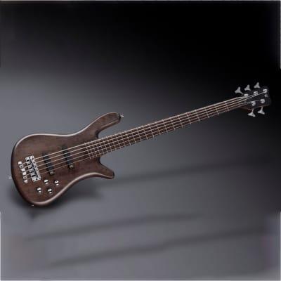 Warwick Teambuilt Pro Series Streamer LX 5-String Bass Nirvana Black Trans Satin