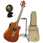 Gold Tone Microbass Micro Acoustic-Electric Bass Bundle image
