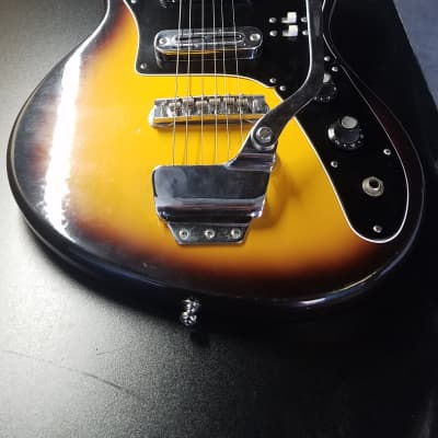 Rexina Teisco 1960's Sunburst for sale