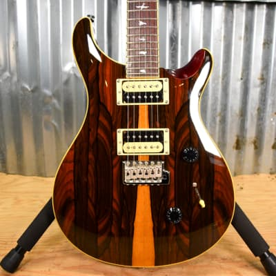 PRS SE Custom 24 Exotic Ziricote - Natural - Floor Model for sale