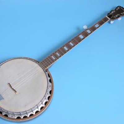Madeira Model 510, 5 String Resonator Banjo Natural for sale