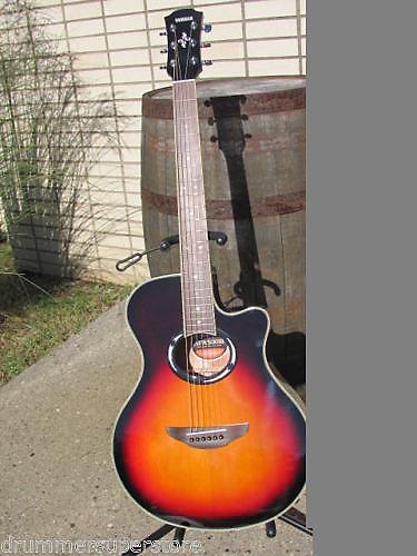yamaha apx500 iii acoustic electric guitar old violin reverb. Black Bedroom Furniture Sets. Home Design Ideas
