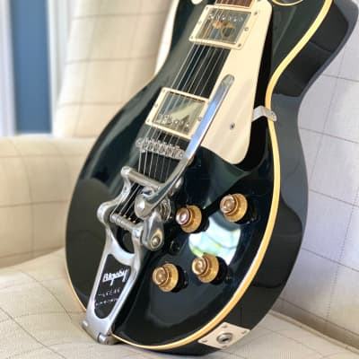 Gibson  Custom Shop 1957 Les Paul '57 Historic Reissue R7 with Bigsby, 2007 Ebony, OHSC & COA