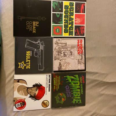 DJ scratch vinyl Beat sample records