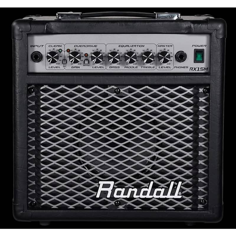 new randall rx15mbc rx series 15 watt 2 channel guitar reverb. Black Bedroom Furniture Sets. Home Design Ideas