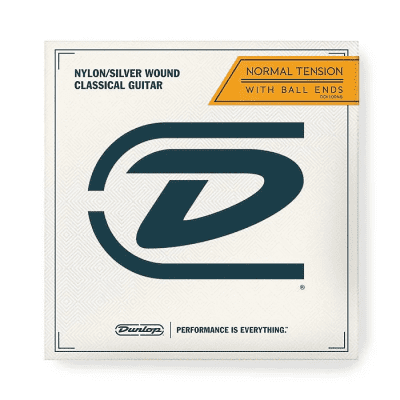 Dunlop DCY01ENB Performance Series Nylon Ball End Classical Guitar String - E (Normal Tension)