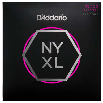 D'Addario NYXL45100 Regular Light Long Scale Bass Strings