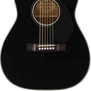 Fender CC-60SCE Black Acoustic Guitar for sale