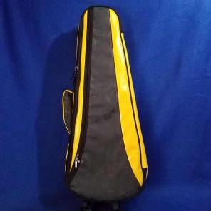 Mims Ukes: Ohana Tenor Ukulele Soft Case Bright Yellow / Black UCS-27BY Uke Accessory