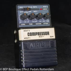Arion SCO-1 Stereo Compressor s/n 072821 mid 80's Japan for sale