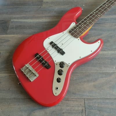 2010 Edwards Japan E-JB-100R/LT Jazz Bass (Torino Red) for sale
