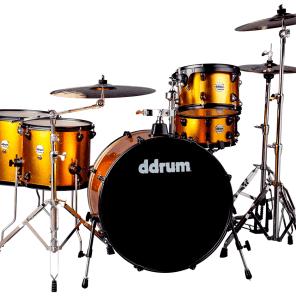 "ddrum J2R-524-BO Journeyman Rambler Gen2 8x12"" / 14x14"" / 14x16"" / 16x24 w/ 7x13"" Snare 5pc Drum Set"