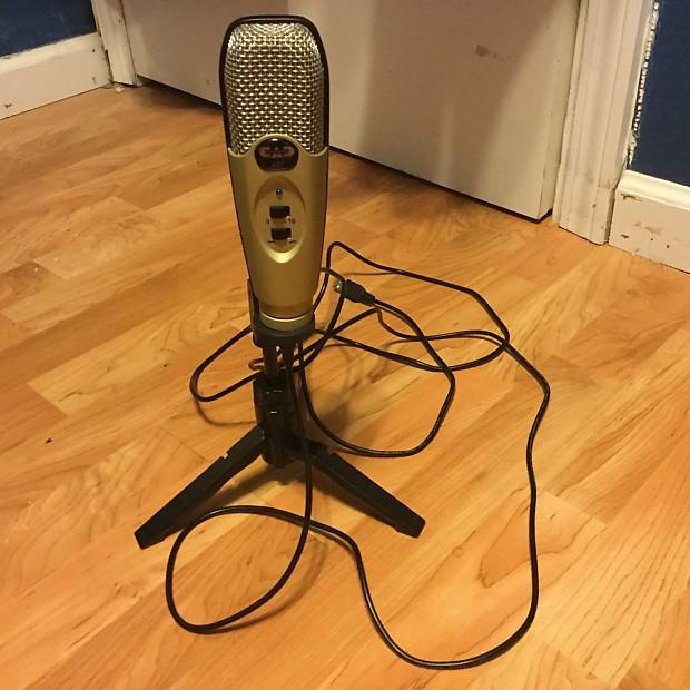 cad u37 usb condenser microphone reverb. Black Bedroom Furniture Sets. Home Design Ideas
