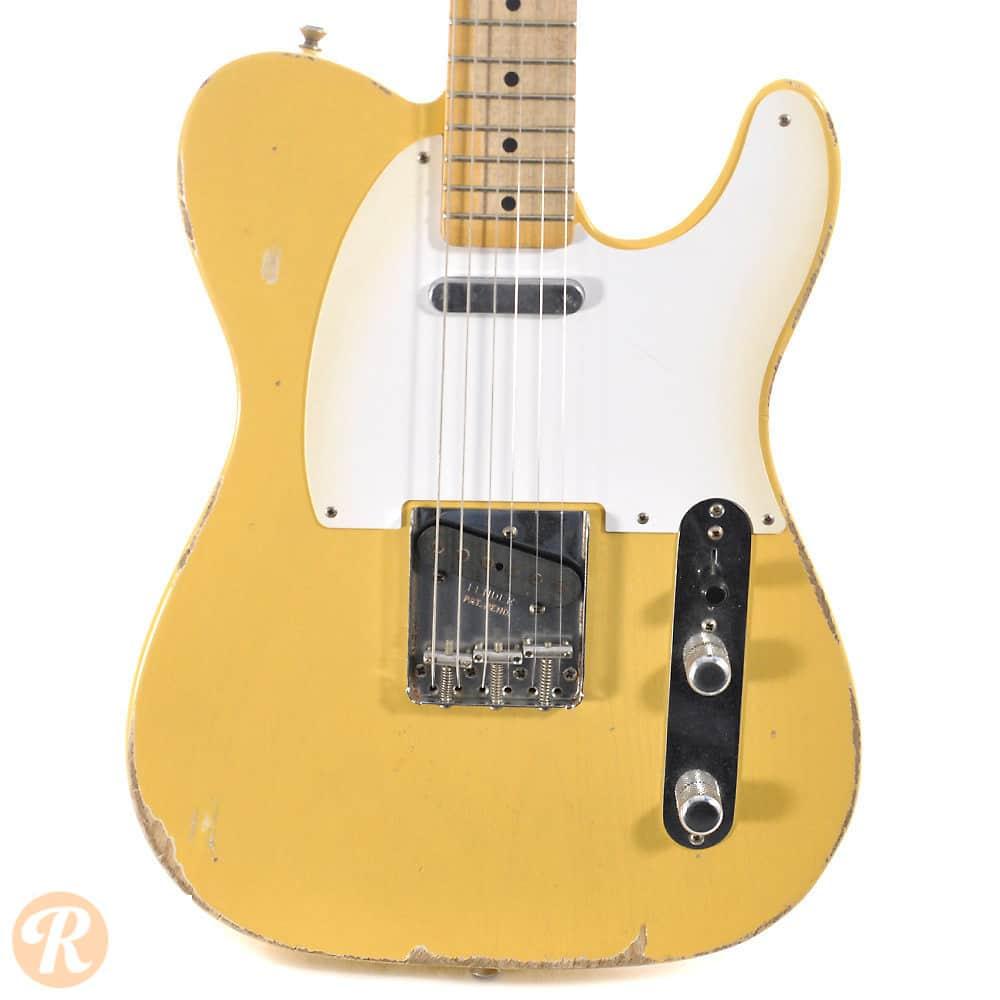 fender road worn 50s telecaster 2011 blonde price guide reverb. Black Bedroom Furniture Sets. Home Design Ideas