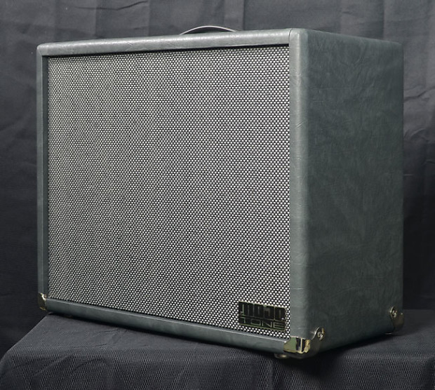 Mojotone Lite 1 x 12 Extension Cabinet in Slate Taurus with Silver Matrix  Cloth (Reverb Exclusive)