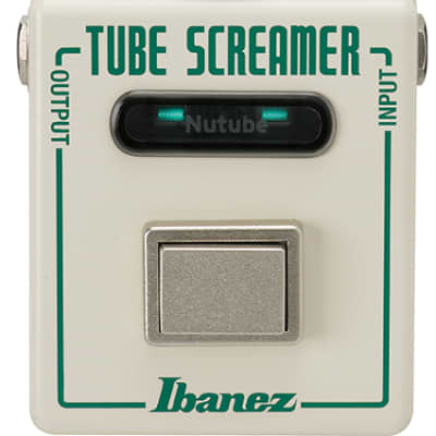 Ibanez NU Tube Screamer Overdrive Guitar Effect Pedal for sale