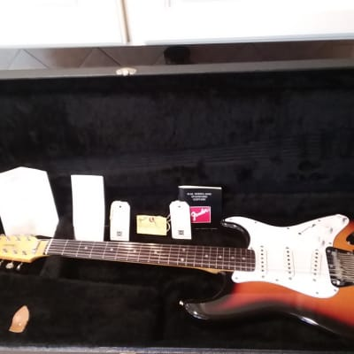 Fender 12 String (XII) Stratocaster 1989 Tobacco Burst?