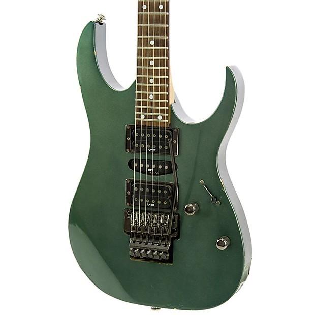 Used 1997 Ibanez Rg570 Juniper Green Electric Guitar Reverb