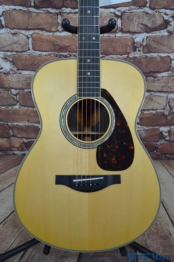 Yamaha ls16 concert acoustic electric guitar natural all for Yamaha ls16 vs ll16
