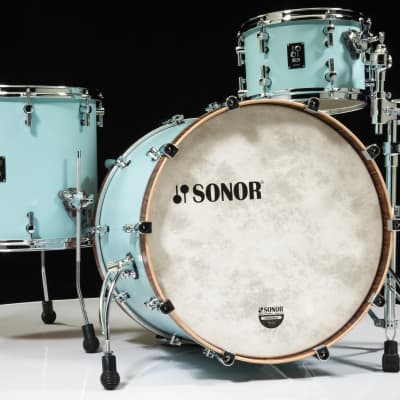 """Sonor SQ1 22"""" 3-piece Shell Pack - Cruiser Blue"""