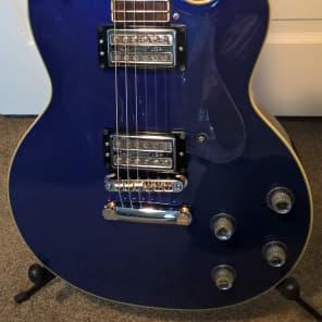 Guild DeArmond M-72--Korean; 2001; Blue Metallic Finish; Exc Cond; USA Gold-Tone PUs; Guild Gig Bag for sale