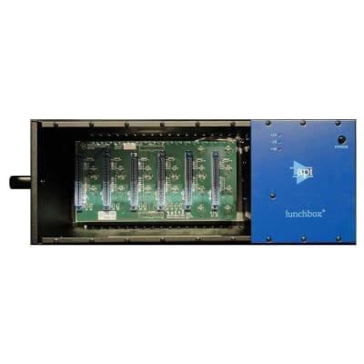 API 500-6B HC Lunchbox 6-Slot Powered 500 Series Frame
