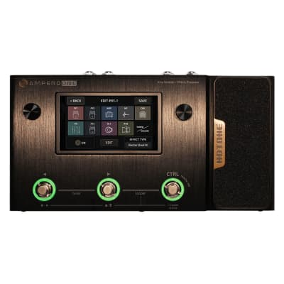 Hotone Ampero One MP-80 Guitar Bass Amp Modeling IR Cabinets Simulation Multi Language Multi-Effects