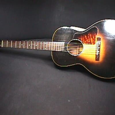 An Antique 1930's Cromwell Gibson Made Rare Flat Top Guitar in a  Soft Case & Ready to Play   4 G for sale