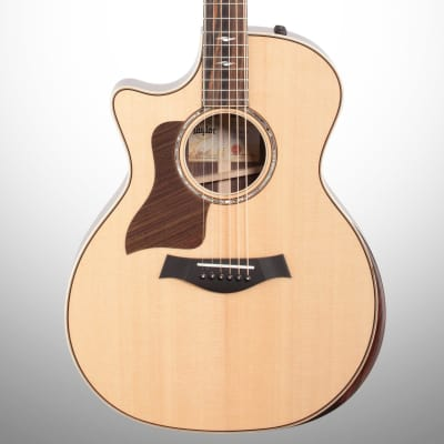 Taylor 814ceV Deluxe Grand Auditorium Acoustic-Electric Guitar, Left-Handed (with Case)