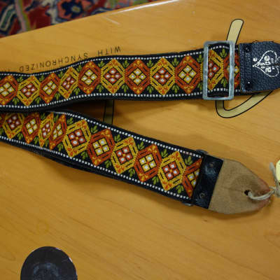 D'Andrea Ace Late 60s Guitar Strap for sale