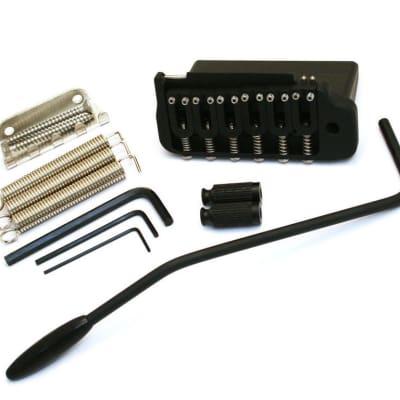 NEW Hipshot 2 Point TREMOLO for Fender American Stratocaster Strat Black 42100VB