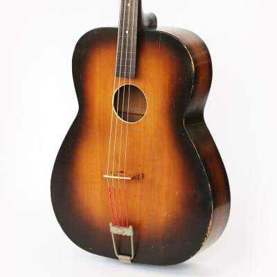 1936 Regal Bassoguitar Vintage Stand Up Flat Top Acoustic Bass Guitar - Pre-War Lyon & Healy Rarity! for sale