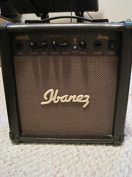 Ibanez ACA15 Acoustic Guitar Combo Amp | Reverb on