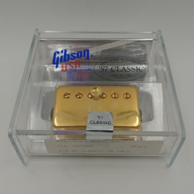 Early Gibson '57 Classic P.A.F. - Gold for sale