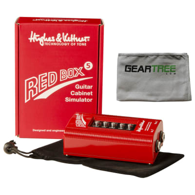 Hughes & Kettner Red Box 5 DI/Speaker Simulator Pedal Bundle